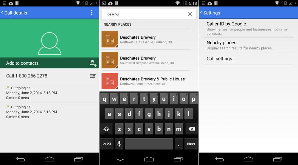 Android 4.4.3 introduce una nuova versione del dialer (foto e download apk)