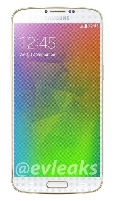 Galaxy F render front