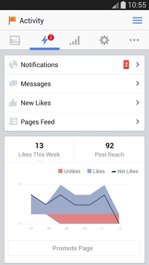 Gestore pagine Facebook 2