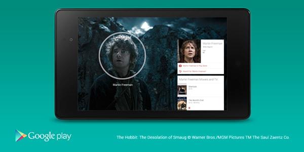 Google Play Movies ora supporta le card informative anche in italiano