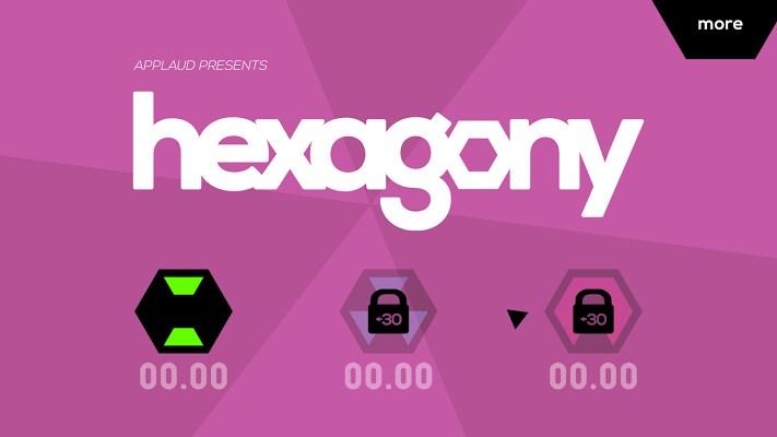 Hexagony: una variante di Super Hexagon disponibile sul Play Store (foto e video)