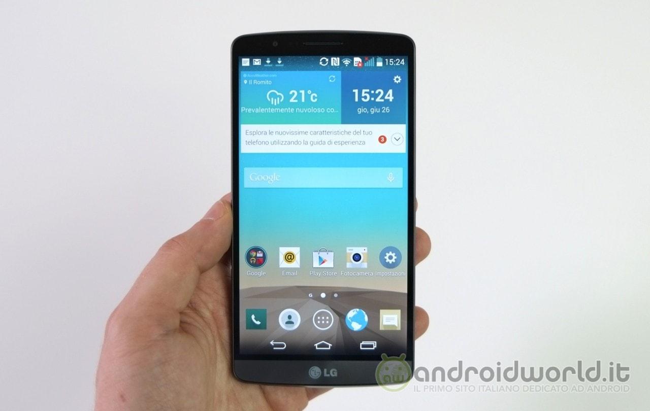 LG G3 sarà il primo smartphone di LG ad aver venduto 10 milioni di unità
