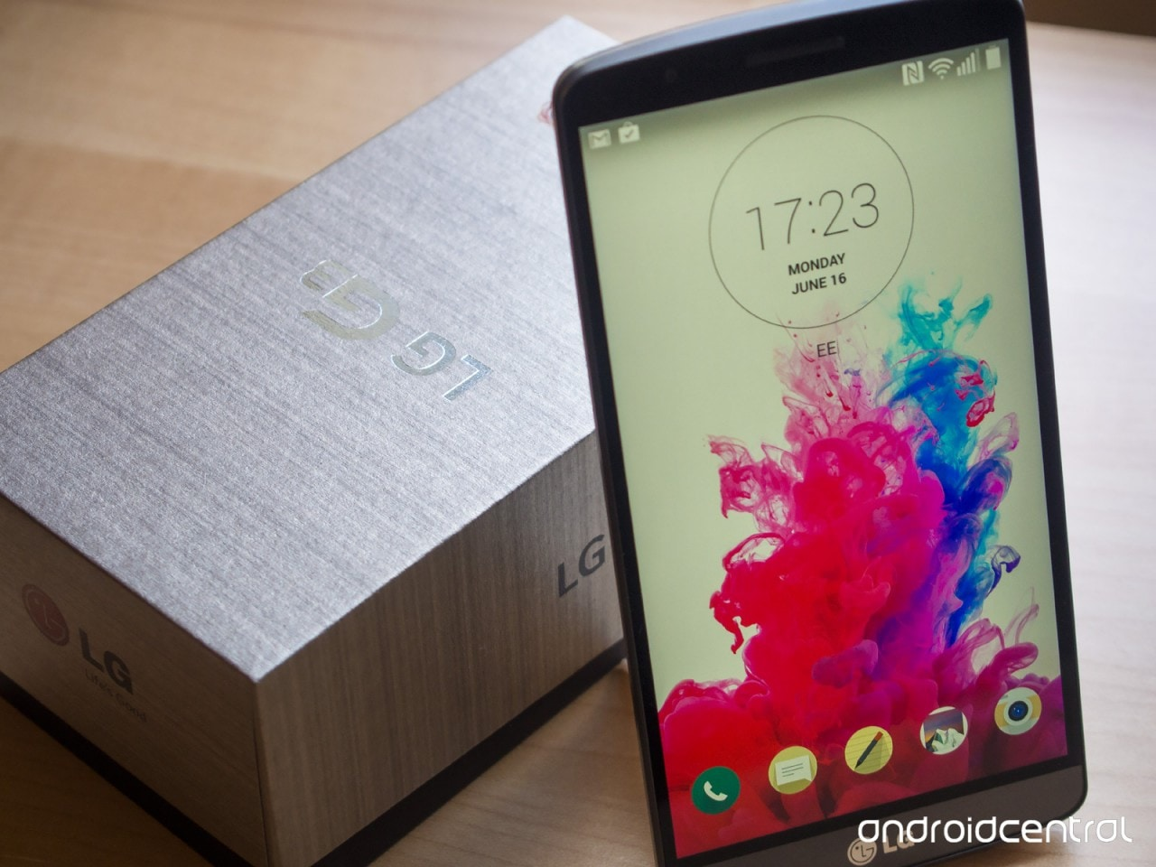 LG G3 unboxing 3