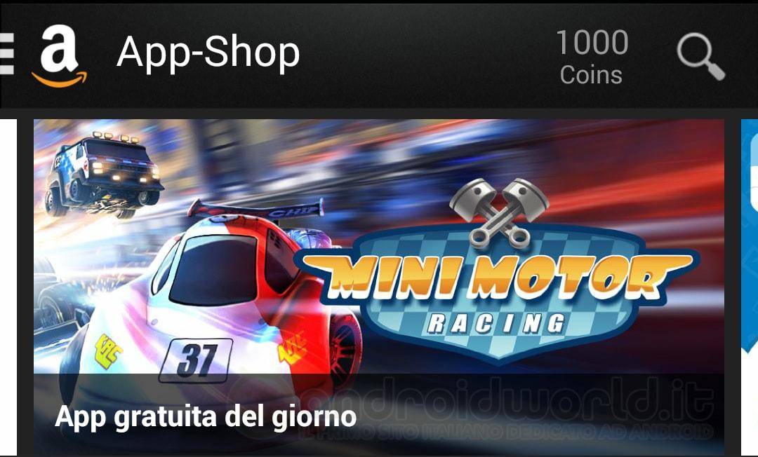 Mini Motor Racing App-Shop