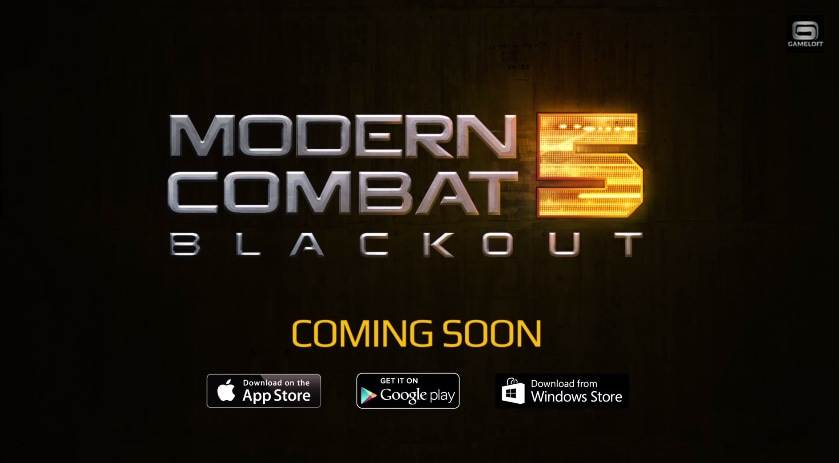 Modern Combat 5 Blackout New Header