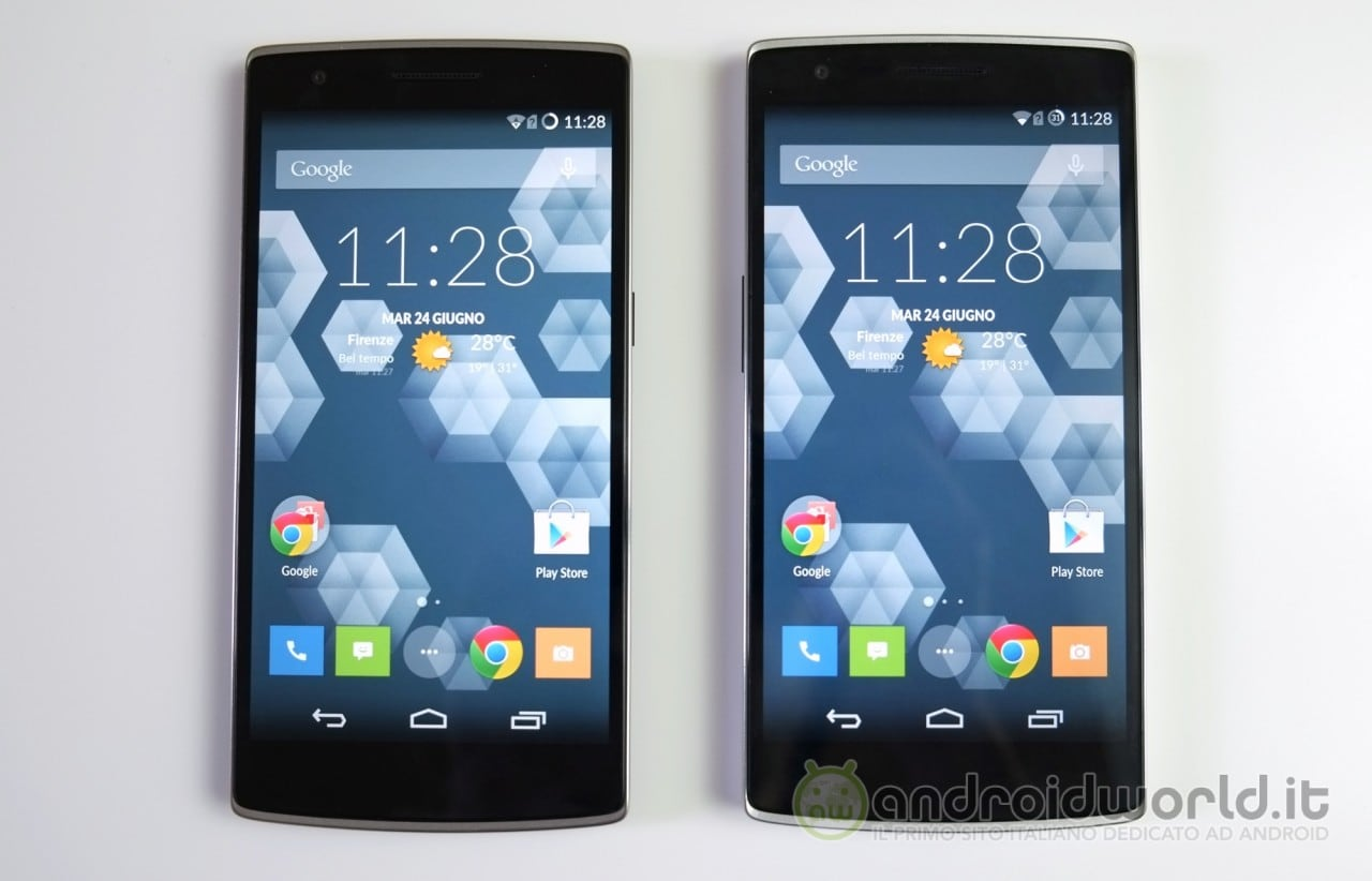 OnePlus One a confronto 1