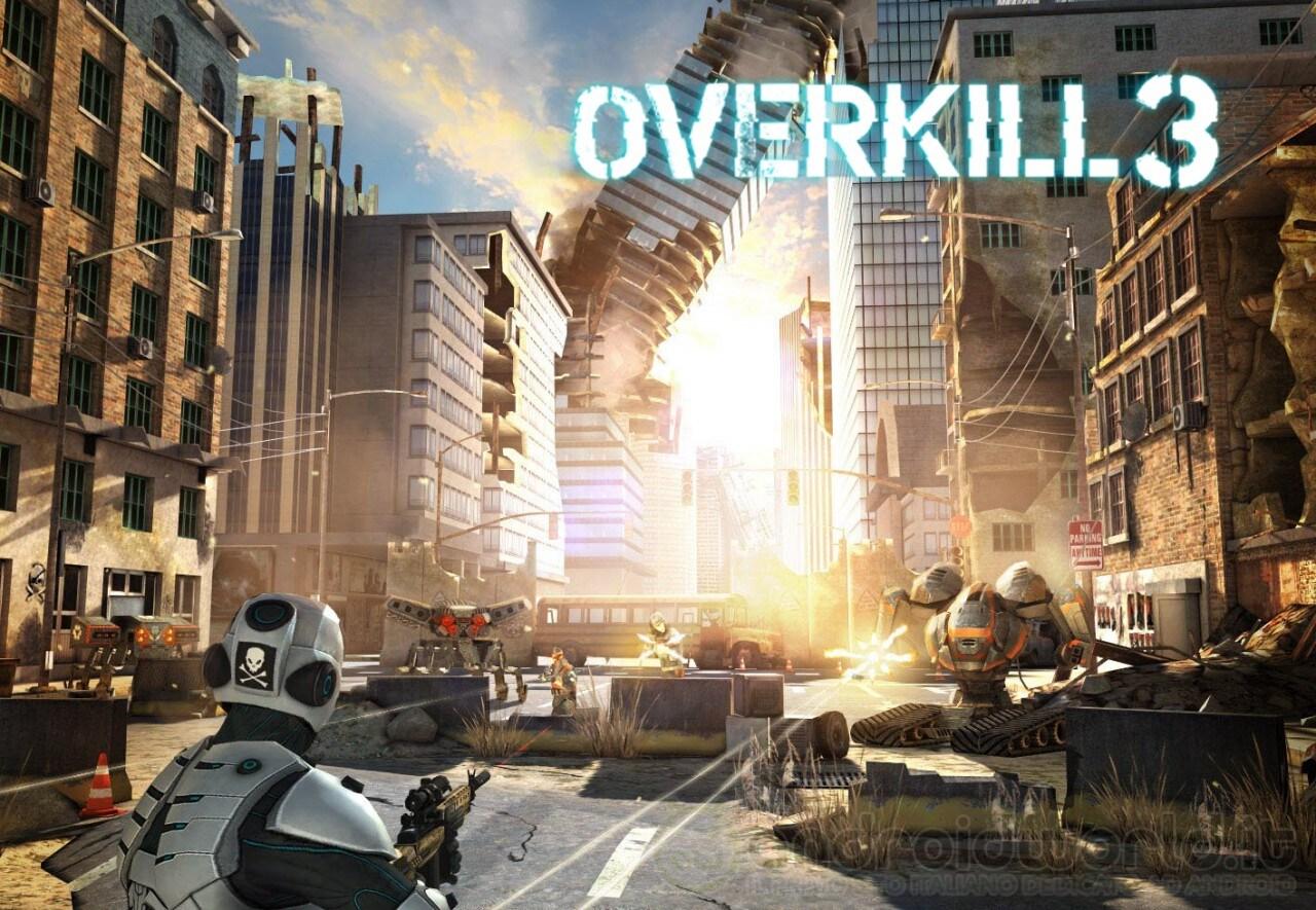 Overkill 3 Android Header