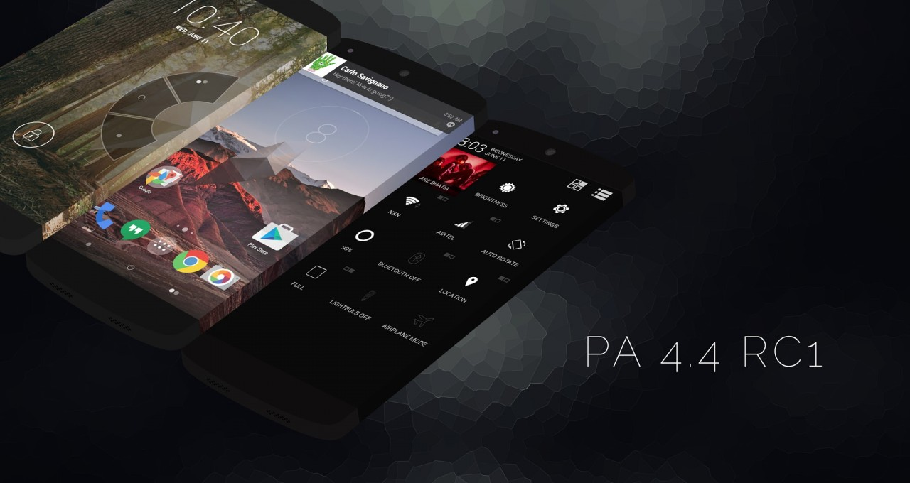 Paranoid Android 4.4 RC1 con Android 4.4.3 disponibile al download