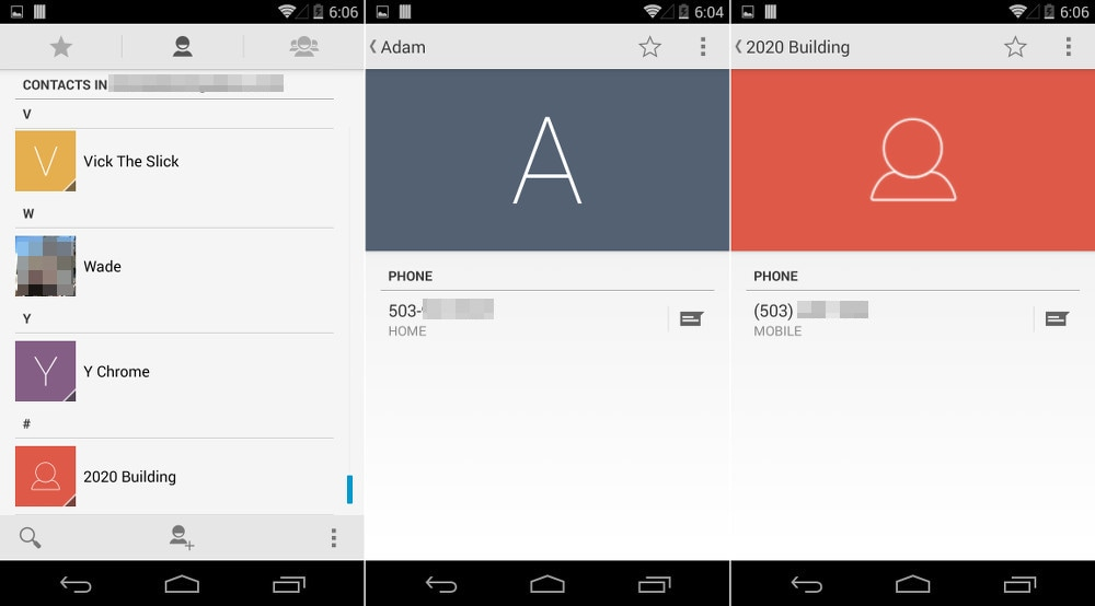 Persone Android 4.4.3