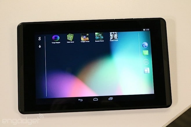 Project Tango tablet 7