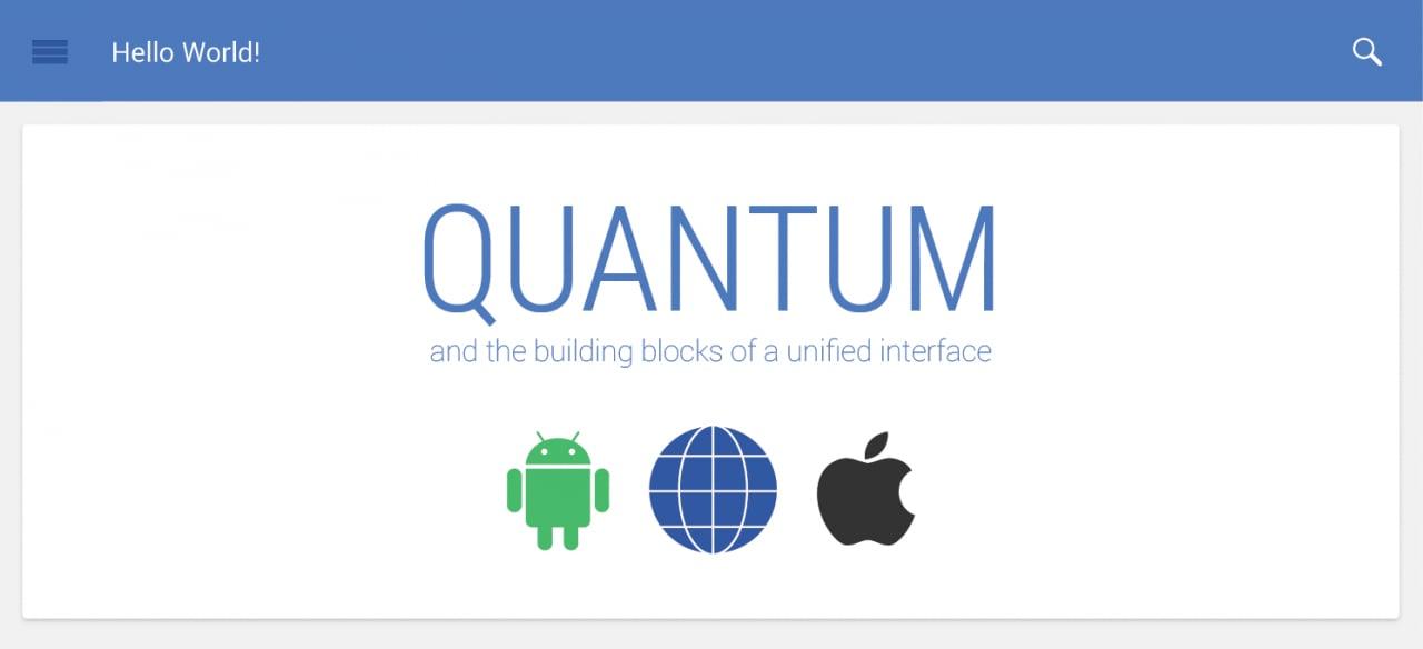 Il futuro del design di Android: Quantum Paper (foto)