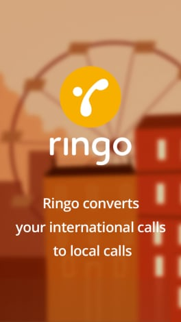Ringo international calling - 1
