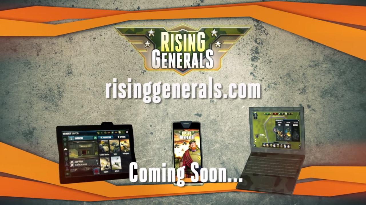 Rising Generals Header