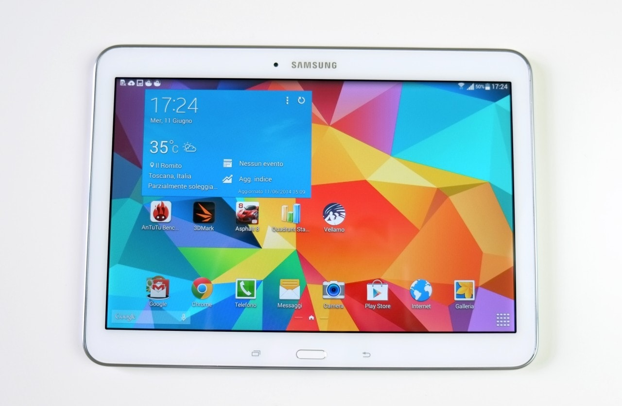 samsung galaxy tab 4 10 1 wi fi in offerta a 199. Black Bedroom Furniture Sets. Home Design Ideas