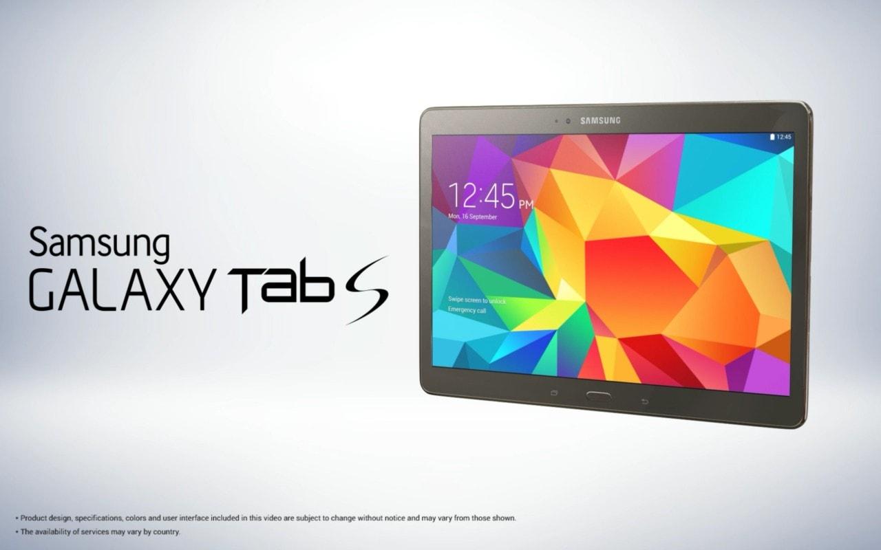 Samsung Galaxy Tab S 0