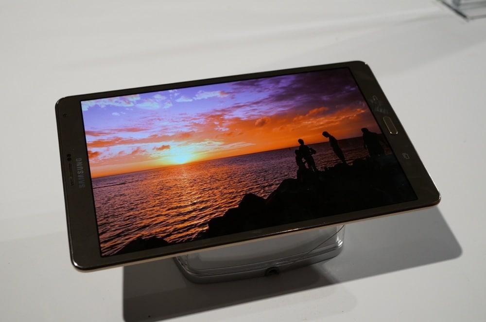 samsung galaxy tab s 8 4 e 10 5 hands on foto e video