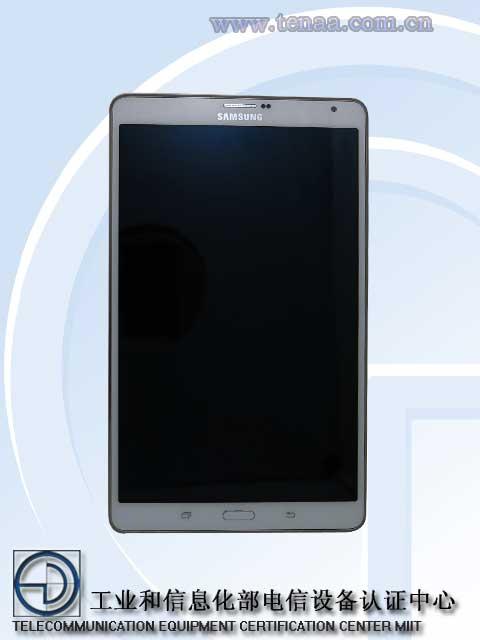 Samsung Galaxy Tab S 8.4 tenaa