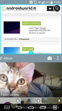 Screenshot LG G3 Multiwindows