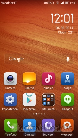 Screenshot Xiaomi Redmi Note 04