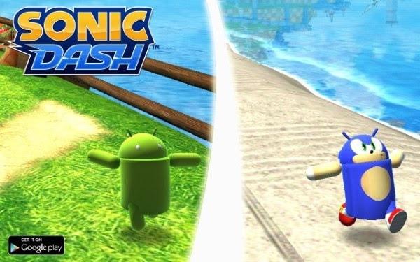 Sonic Dash Update