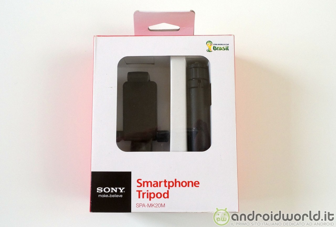 Sony treppiedi per Smartphone: la nostra prova (foto)