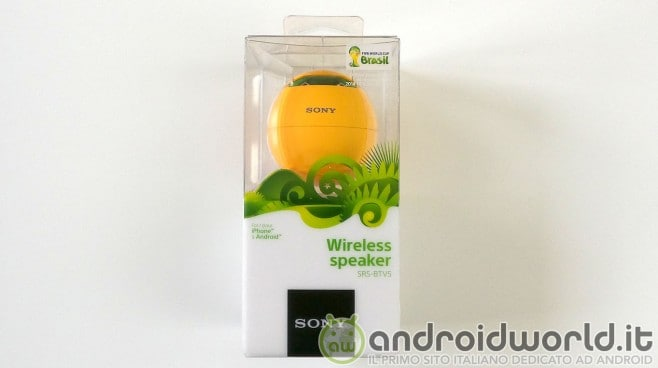 Sony Wireless Speaker SRS-BTV5 13