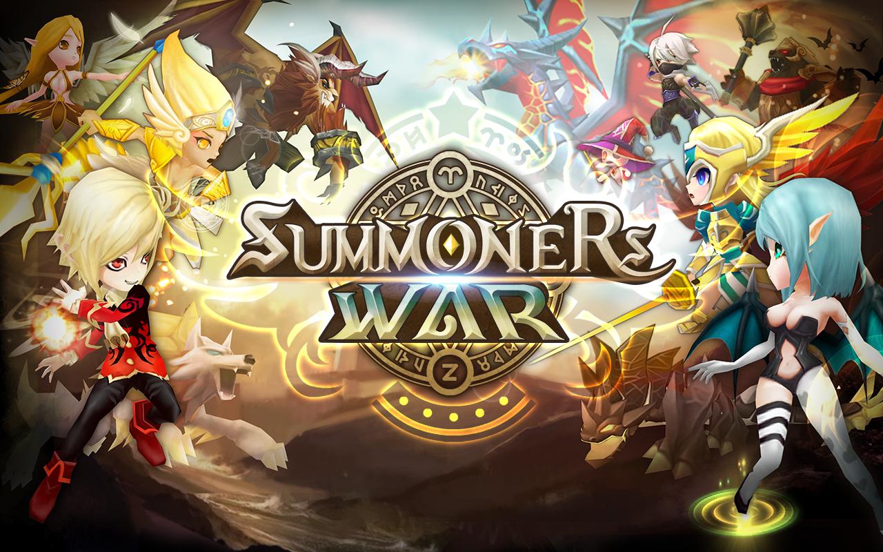 Summoners Wars Header