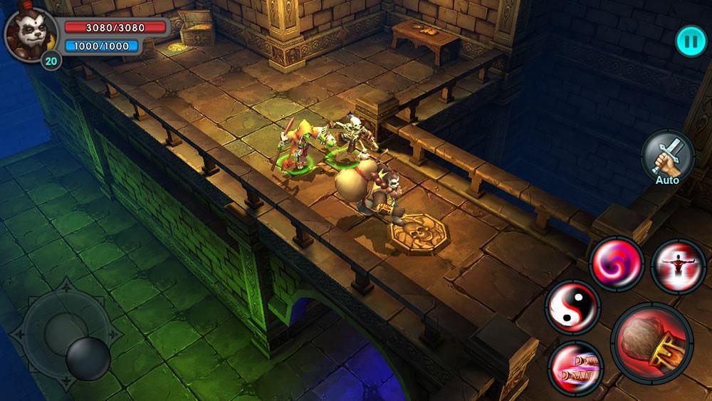 Taichi Panda: un nuovo Action-RPG in arrivo anche per Android (foto e video)