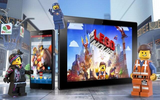 The LEGO Movie Xperia Theme Header