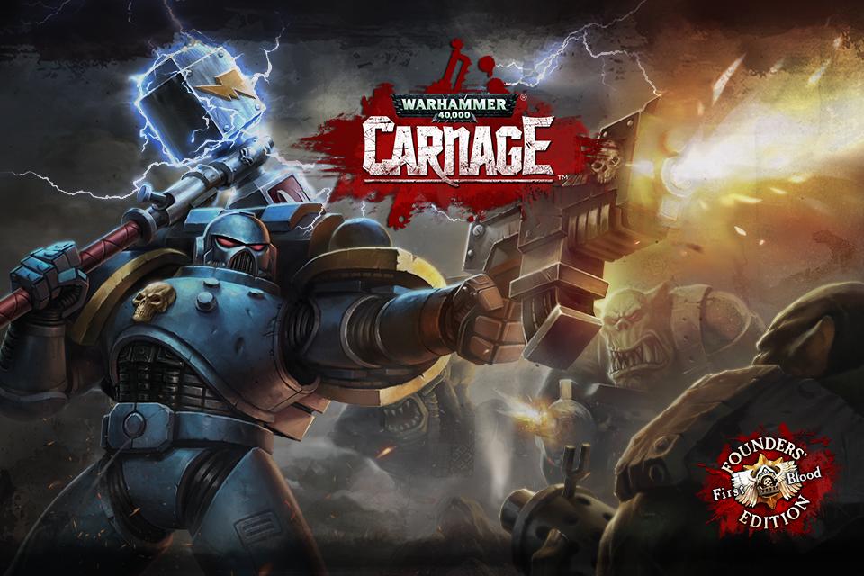 Warhammer 40000 Carnage Header