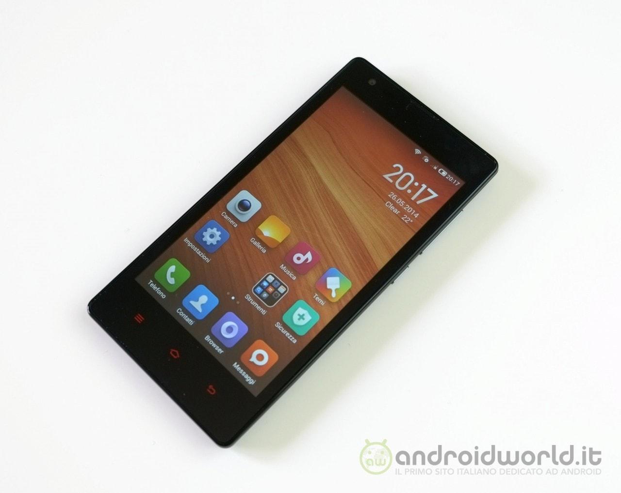 Xiaomi porta la MIUI v6 su Hongmi 1S (video)
