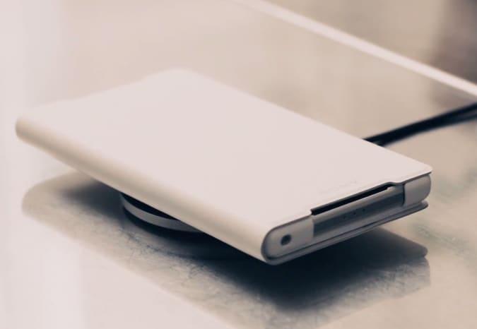 Video promo per la ricarica wireless su Sony Xperia Z2