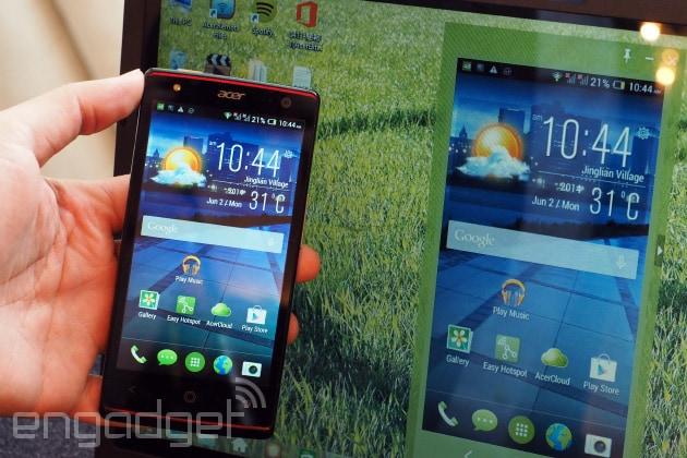 Acer Extend, vi farà usare il vostro telefono sul PC