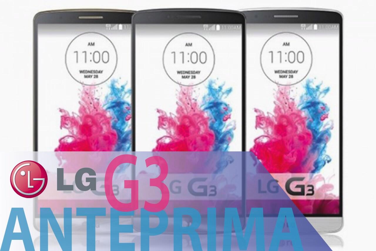 Anteprima LG G3
