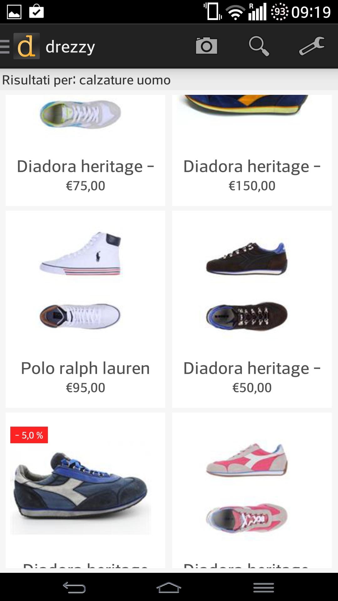 Drezzy, l'app per acquistare su tutti i negozi di moda