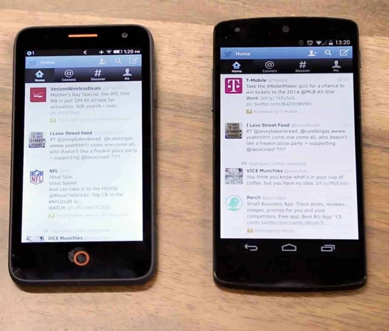 Le web app di Firefox OS girano anche su Android (video)