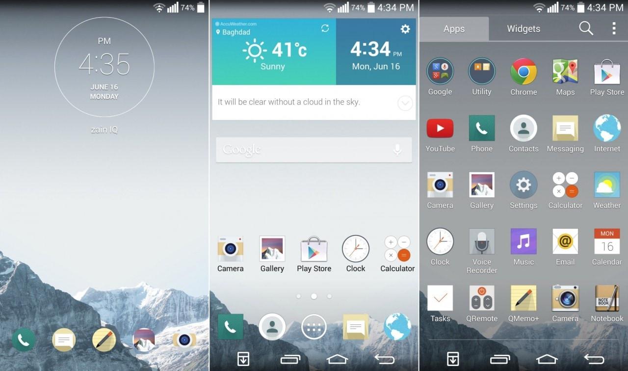 Ecco il porting della ROM di LG G3 per LG G2