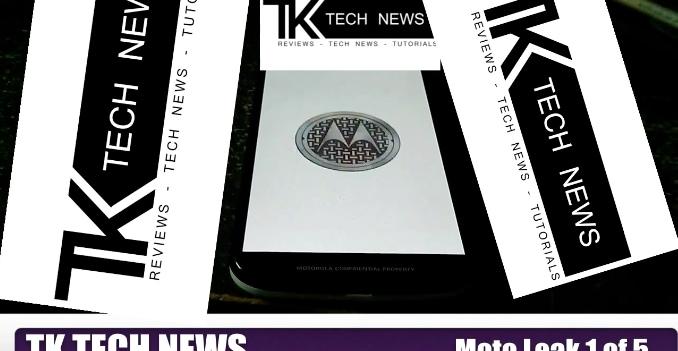 Motorola Moto X+1 trapelato nel filmato con più watermark di sempre (video)