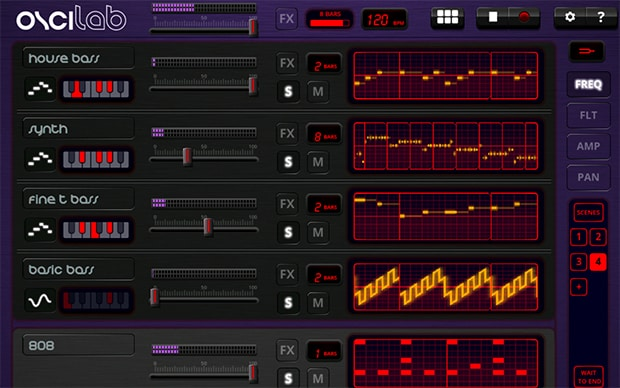 """[Soundroid] Oscilab: un sequencer """"wave oriented"""" disponibile per Android"""