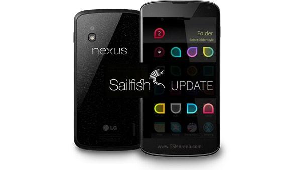Il porting di Jolla Sailfish per Nexus 4 si aggiorna alla versione Saapunki