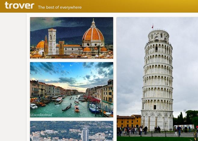 trover_applicazione_viaggi e luoghi