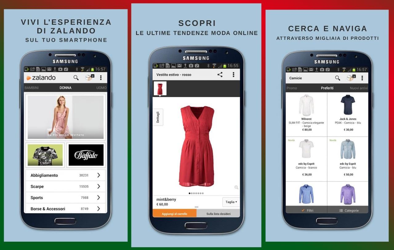 Acquisti su Zalando direttamente dal proprio smartphone (foto)