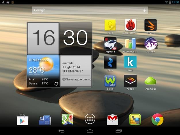 Screenshot Acer A1 830