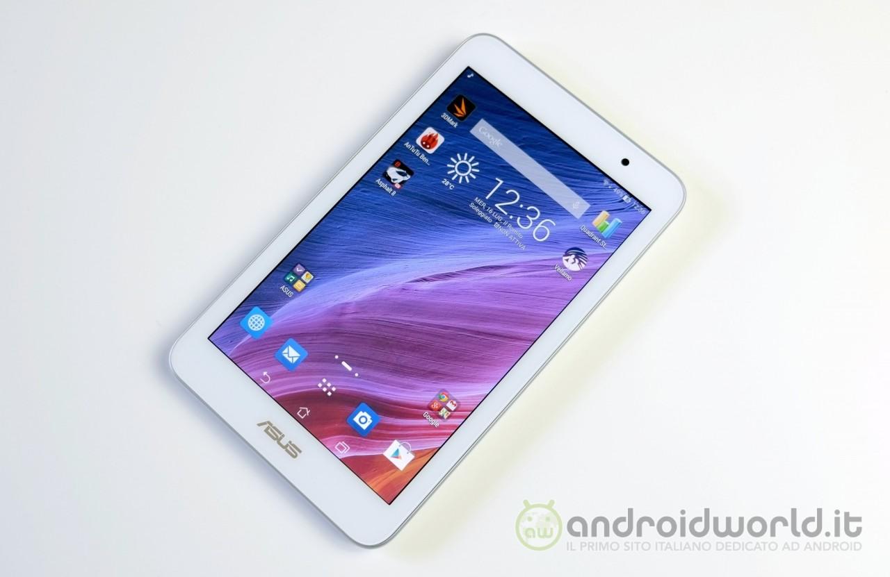 ASUS MeMO Pad 7 (ME176CX) si aggiorna ad Android 5.0 Lollipop (foto)