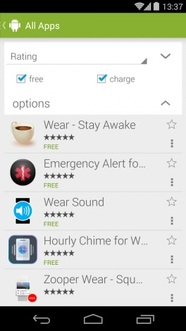Android Wear Store 1