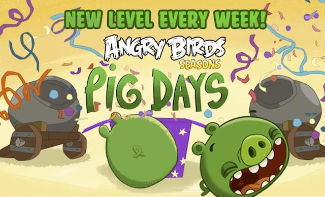 Angry Birds Seasons Pig Days