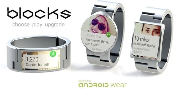 Blocks, lo smartwatch modulare con (forse) Android Wear