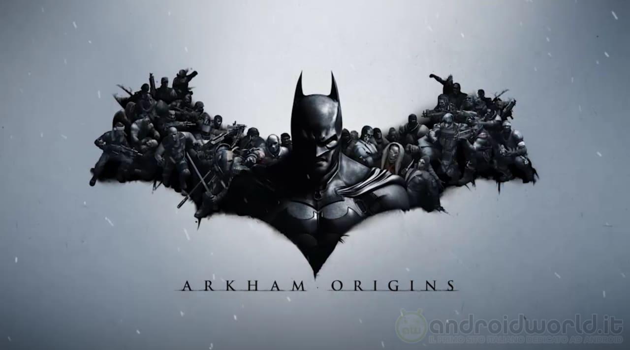 Batman: Arkham Origins disponibile sul Play Store di Google (foto e video)