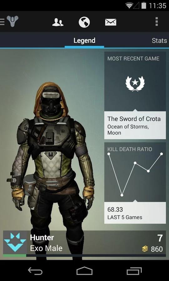Insieme alle beta di Destiny arriva anche la companion app ufficiale per Android (foto)