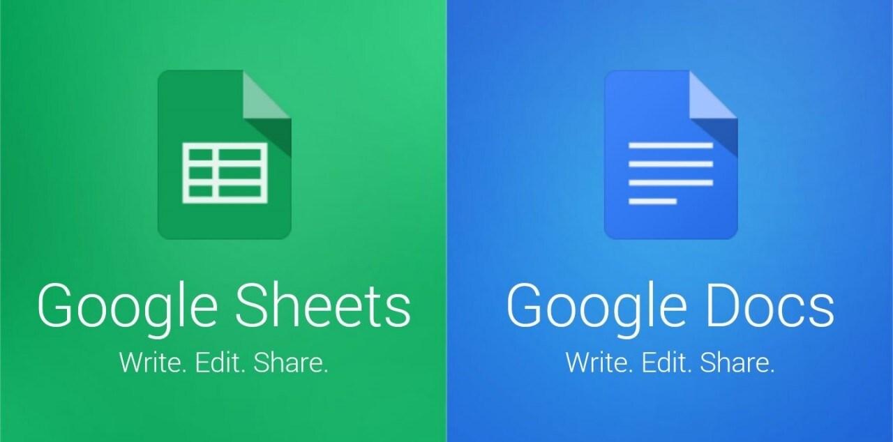 Docs sheets